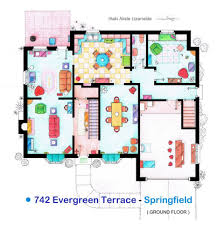 Kris Jenner House Floor Plan by Famous Television Show Floor Plans