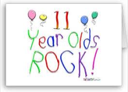 100 days of birthdays 11th birthday send to someone