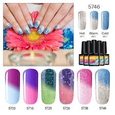 online get cheap changing color nail polish glitter aliexpress