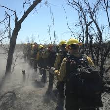 Wildfire 300 Atv Review by Women U0027s Fire Crew From Perryville Prison Fights Highline Fire In