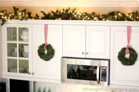 Decor Above Kitchen Cabinets Greenery Above Kitchen Cabinets New Home Interior Design Ideas