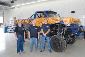 monster truck racing association machining monster truck parts propels growth