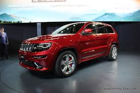 jeep srt modified live jeep grand cherokee srt looks red shifting gears