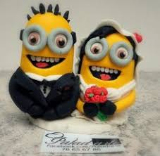 marvelous minions wedding cake topper made with 3d printer