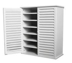 White Shoe Storage Cabinet Wooden Shoe Storage Cabinet 3 Racks White Wooden Shoe Storage
