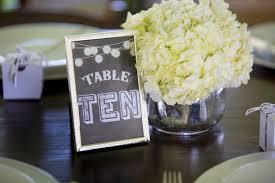 Wedding Table Signs Stylish Rustic Springtime Wedding Reception In Maryland Katie