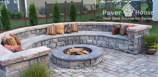 Backyard Paver Patio Ideas Chic Walled Patio Ideas Looking For Retaining Walls Paver Ideas