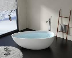 bw 01 l egg shaped modern resin freestanding bathtub