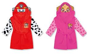 paw patrol halloween costume paw patrol marshall skye kids hooded bathrobe fleece dressing gown