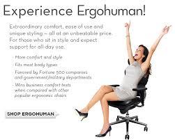 ergohuman chairs shop ergohuman chairs and ergonomic office products