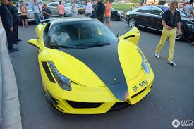 modified ferrari caught on camera samuel eto u0027o spotted in monaco with his u20ac550 000