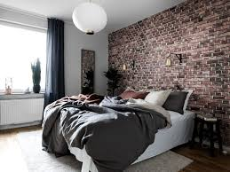 The  Best Brick Wallpaper Bedroom Ideas On Pinterest Brick - Bedroom wallpaper idea