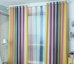 Pastel Coloured Curtains Mind Blowing Rainbow Curtains Fascinating Idea For Home Interior