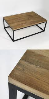 Chaise Haute Industriel by 14 Best Table Basse En Bois Images On Pinterest Wood Solid