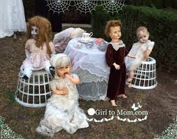 creepy halloween yard people to mom
