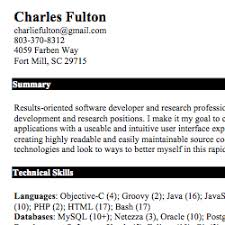 Software Developer Resume Examples by Ios Developer Resume Examples