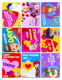 9 printable rainbow brite valentine u0027s day cards feeln blog