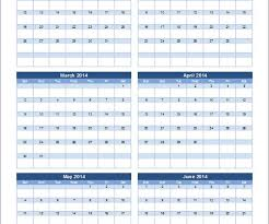 15 yearly budget templates free word excel pdfbudget calendar