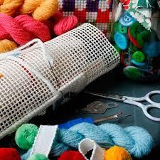 retro bloom rainbow cross stitch kit crafteratti jacqui p