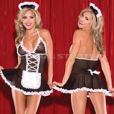 Lingerie Halloween Costume Women Halloween Costume Cosplay French Maid Lingerie