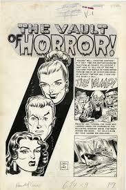 johnny craig and jack davis original art for the ec comics title