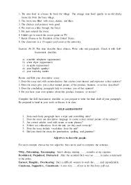 Adjectives To Use In Resume Resume Customer Services Representative Ap Essay Questions