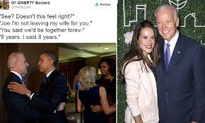 Bromance Memes - i m not leaving my wife for you joe biden s daughter says the