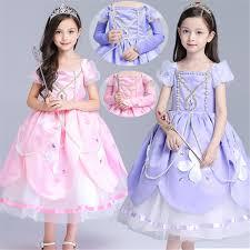 christmas 2016 fashion dress sofia princess halloween girls