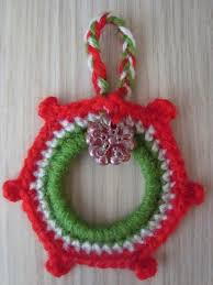 handmade by camelia pattern three ornaments crocheted for christmas