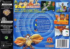 looney tunes taz express box shot nintendo 64 gamefaqs
