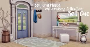 benjamin moore williamsburg colors williamsburg collection