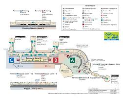 Metro Washington Dc Map by Terminal Map Metropolitan Washington Airports Authority