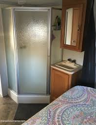 Cafemom In The Bedroom Rv Remodel 200 Square Foot Tiny Home Before And After Pictures