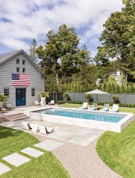 Pool Home Past Is Present Loosening Up A Formal Estate In New York Boston