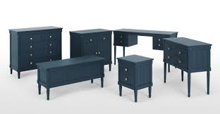 Hallway Furniture Ireland by Bourbon Vintage Bedroom Bench Dark Blue Made Com