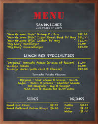 box de cuisine the lunch box menu food trucks items and ideas options