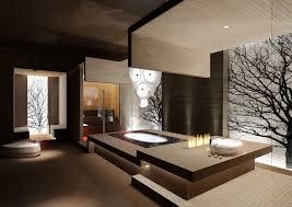 awesome brown wood glass modern design worlds best restaurant wall