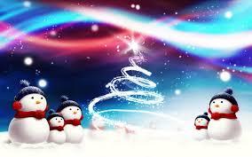 snowman backgrounds desktop wallpaper