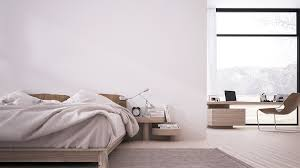 White Furniture In Bedroom Inspiring Minimalist Interiors With Low Profile Furniture