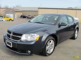 dodge avenger gray 2008 dodge avenger sxt in modern blue pearl 256734