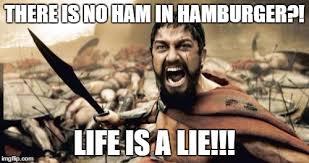 Hamburger Memes - sparta leonidas meme imgflip
