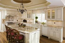 cream glazed kitchen cabinets best home decor