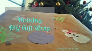 how to make your own holiday gift wrap life in the spiral