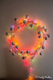 christmas wreaths to make diy modern wire and ornament wreath handmaker of things