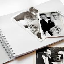 anniversary guest book personalised golden wedding anniversary guestbook by amanda