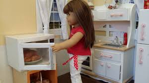 fun with ag fan craft make a microwave for your doll