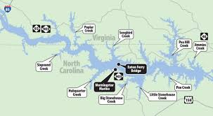 outdoor world lake gaston map the cat s out of the bag big blue catfish are often overlooked