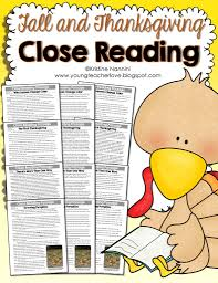fall and thanksgiving reading passages text dependent