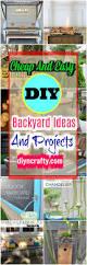 Cheap Diy Backyard Ideas Cheap And Easy Diy Backyard Ideas And Projects U2022 Diy U0026 Crafts