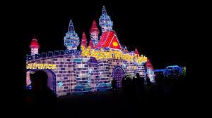 magical winter lights houston la marque tx magical winter lights 2016 youtube